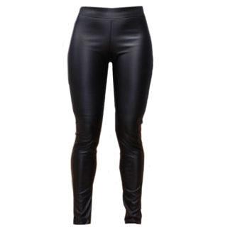 Черные кожаные легинсы женские - купить в интернет-магазине дешево