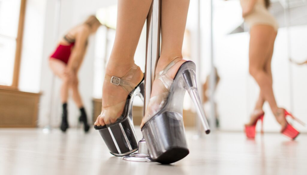обувь для exotic pole dance